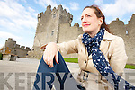 "Killarney artist Amélie Gagné, who's essay for the Irish Times competition on the ""Best Place to Live in Ireland"" has seen Killarney shortlisted in the final 25, pictured at Ross Castle on Tuesday.............."