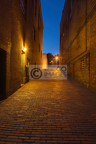 BRICK ALLEYWAY BROOKVILLE PENNSYLVANIA USA