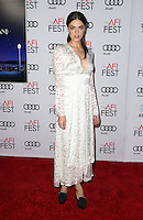 Hollywood, CA - NOVEMBER 15: Callie Hernandez, At Audi Celebrates La La Land At AFI Fest 2016 Presented By Audi At The TCL Chinese Theatre, California on November 15, 2016. Credit: Faye Sadou/MediaPunch