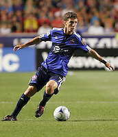 Real Salt Lake midfielder and MLS All Star, Will Johnson in the Everton FC win over Major League Soccer All Stars, July 29, 2009 at Rio Tinto Stadium in Sandy, Utah.