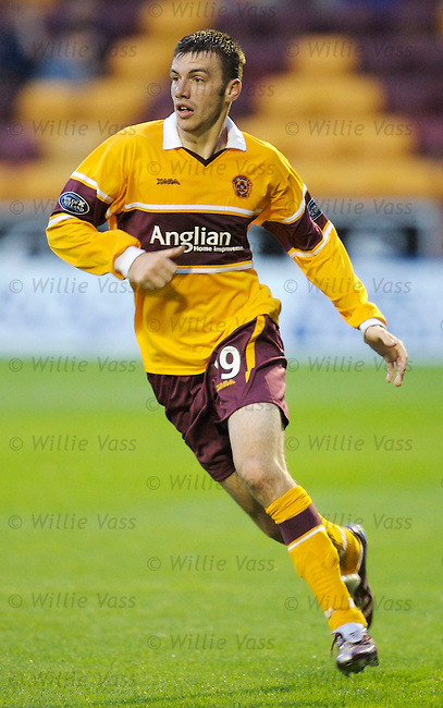 Paul Quinn, Motherwell.stock season 2006-2007.pic willie vass