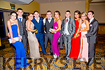 Listowel Community College, St Michael's College, Listowel and Presentation, Listowel, enjoying their Debs at the Brandon Hotel on Thursday night. Pictured l-r  Lucy Shine, Raymond Downey, Jessica Reeks, Jayden Prendeville, Cillian Downey, Stacey Meaney, Seanie Ryan, Zoe O'Gorman, Kelly Donovan and Damien Murphy.