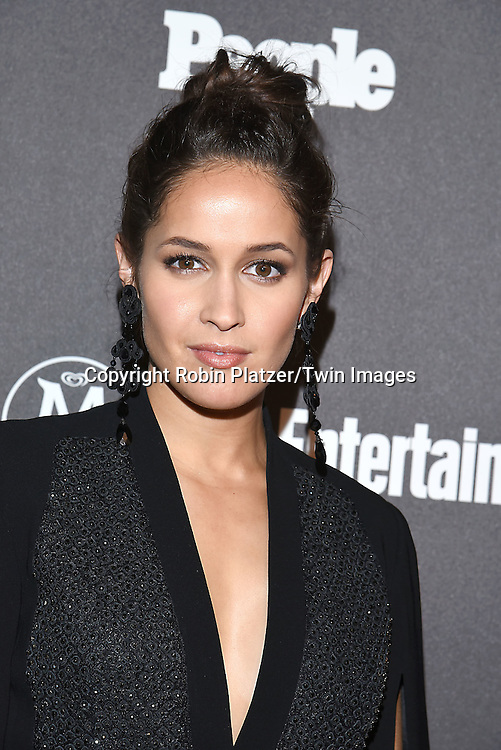 Jaina Lee Ortiz attends the Entertainment Weekly &amp; PEOPLE Magazine New York Upfronts Celebration on May 16, 2016 at Cedar Lake in New York, New York, USA.<br /> <br /> photo by Robin Platzer/Twin Images<br />  <br /> phone number 212-935-0770