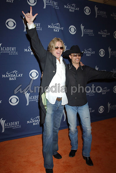 May 26, 2004; Las Vegas, NV, USA; Musicians BIG and RICH during the 39th Annual Academy of Country Music Awards held at Mandalay Bay Resort and Casino. Mandatory Credit: Photo by Laura Farr/AdMedia. (©) Copyright 2004 by Laura Farr