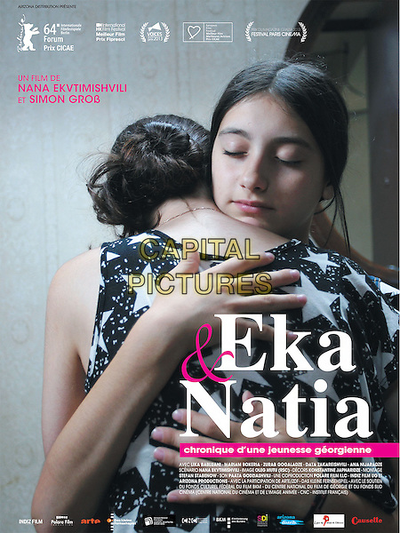 FRENCH POSTER ART<br /> in In Bloom (2013) <br /> (Grzeli nateli dgeebi)<br /> (Eka et Natia, Chronique d'une jeunesse georgienne)<br /> *Filmstill - Editorial Use Only*<br /> CAP/NFS<br /> Image supplied by Capital Pictures