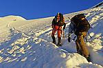 Montée vers le sommet du Windjoch (3850 m)