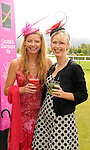 16-07-2015: Martina Harrington, Killorglin, and Caroline O'Connell, Ballymakeera,  at the Ross Hotel Lane Bar Cocktail and Champagne Bar  at Killarney Races ladies day on Thursday.  Picture: Eamonn Keogh (macmonagle.com)   NO REPRO FREE PR PHOTO