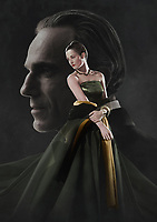 Phantom Thread (2017) <br /> Promotional art with Daniel Day-Lewis &amp; Camilla Rutherford<br /> *Filmstill - Editorial Use Only*<br /> CAP/KFS<br /> Image supplied by Capital Pictures