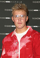 08 May 2019 - Hollywood, California - Jake Paul. Fashion Nova x Cardi B Collection Launch Event held at the Hollywood Palladium. Photo Credit: Faye Sadou/AdMedia