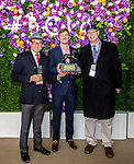 November 2, 2018: Connections for Improbable #2 on Breeders' Cup World Championship Friday at Churchill Downs on November 2, 2018 in Louisville, Kentucky.  Ryan Denver/Eclipse Sportswire/CSM