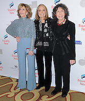"05 December 2016 - Beverly Hills, California. Jane Fonda, Gloria Steinem, Lily Tomlin.   Equality Now's 3rd Annual ""Make Equality Reality"" Gala  held at Montage Beverly Hills. Photo Credit: Birdie Thompson/AdMedia"