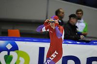 SCHAATSEN: HEERENVEEN: 18-10-2013, IJsstadion Thialf, Trainingswedstrijd, ©foto Martin de Jong