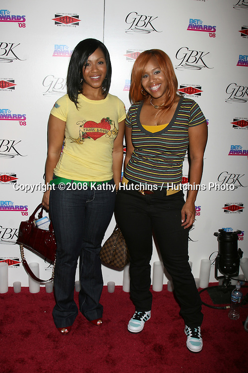 Mary Mary  at the BET Awards GBK Gifting Lounge outside the Shrine Auditorium in Los Angeles, CA on.June 23, 2008.©2008 Kathy Hutchins / Hutchins Photo .