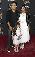 www.acepixs.com<br /> <br /> March 2 2017, LA<br /> <br /> Mario Lopez, Courtney Laine Mazza and Gia Francesca Lopez arriving at the premiere of Disney's 'Beauty And The Beast' at the El Capitan Theatre on March 2, 2017 in Los Angeles, California.<br /> <br /> By Line: Famous/ACE Pictures<br /> <br /> <br /> ACE Pictures Inc<br /> Tel: 6467670430<br /> Email: info@acepixs.com<br /> www.acepixs.com
