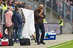 22.07.2017, Millerntor-Stadion, Hamburg, GER, FSP, FC St. Pauli vs SV Werder Bremen<br /> <br /> im Bild<br /> Olaf Janssen (Trainer FC St. Pauli) in Coaching Zone, <br /> <br /> Foto &copy; nordphoto / Ewert