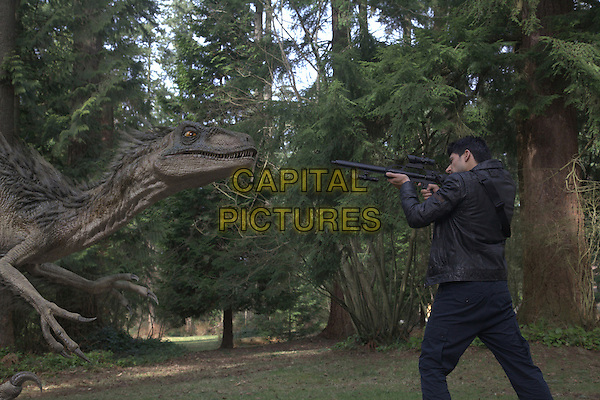 Danny Rahim<br /> in Primeval: New World (2012) <br /> *Filmstill - Editorial Use Only*<br /> CAP/FB<br /> Image supplied by Capital Pictures