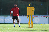 Ashley Williams of Wales during the Wales Training Session at The Vale Resort in Cardiff, Wales, UK. Monday 12 November 2018