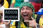 Fans, JUNE 22, 2014 - Football / Soccer : FIFA World Cup Brazil 2014 Group H match between Belgium 1-0 Russia at the Maracana stadium in Rio de Janeiro, Brazil. (Photo by Maurizio Borsari/AFLO)