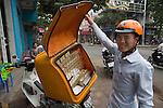 Cigarette vendor, Vietnam