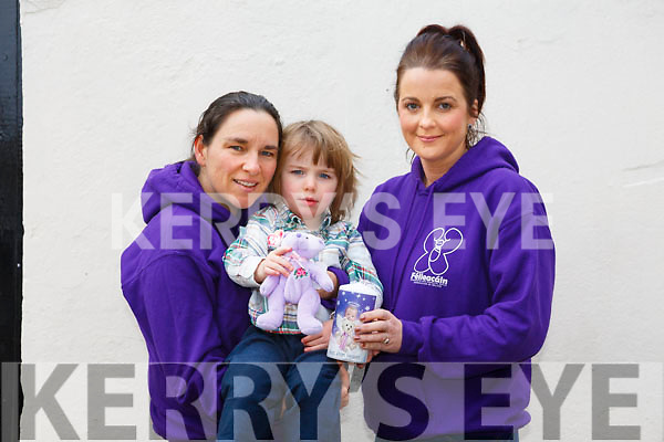 Launch of the 4th Féileacáin Light of Love Remembrance Mass for Stillbirth babies at St. Brendan's Church Tralee on Saturday 2nd December at 2pm. Pictured Nora Butler, Conal Courtney and Bridget O'Connor McMahon
