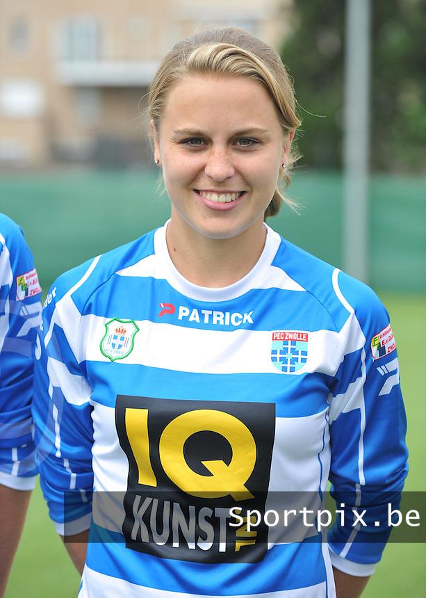 PEC Zwolle : Lianne de Vries .foto DAVID CATRY / Vrouwenteam.be