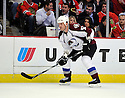 ADAM FOOTE,  of the Colorado Avalanche in action  during the Avalanche game against the Chicago Blackhawks at the United Center in Chicago, IL.  The Colorado Avalanche beat the Chicago Blackhawks 4-3 in Chicago, Illinois on December 15, 2010....