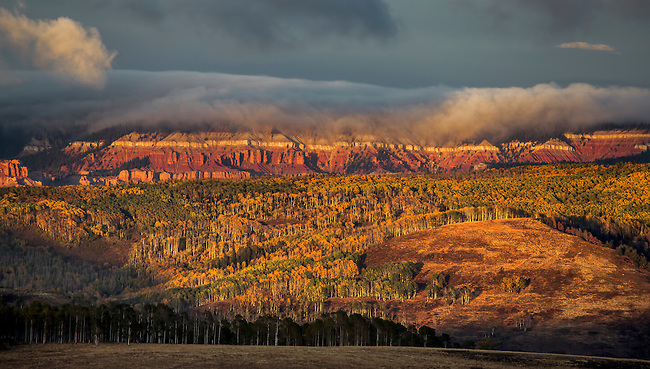 Fall colors extend to Cedar Breaks National Monument in Southern Utah