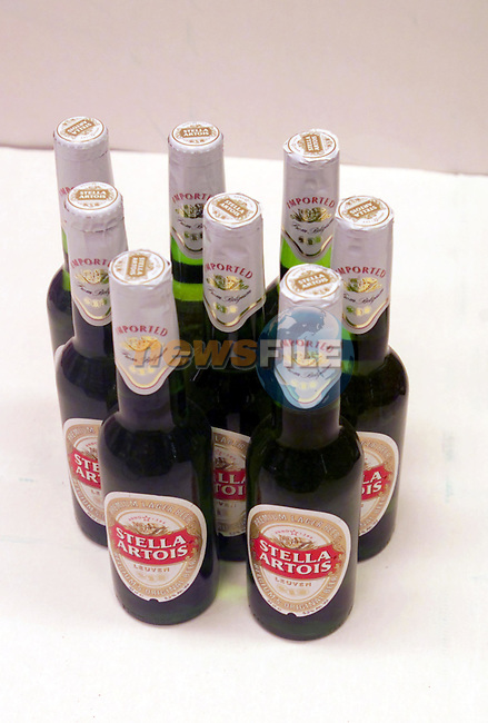 8 bottles of Stella Artois,at londis Bettystown...Picture Newsfile.