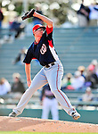 5 March 2010: Washington Nationals' pitcher Tyler Clippard in action during a Spring Training game against the Atlanta Braves at Champion Stadium in the ESPN Wide World of Sports Complex in Orlando, Florida. The Braves defeated the Nationals 11-8 in Grapefruit League action. Mandatory Credit: Ed Wolfstein Photo