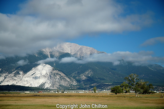 Photo of Blanca Peak, Colorado.