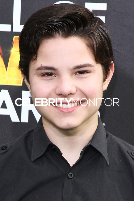 SANTA MONICA, CA, USA - FEBRUARY 15: Zach Callison at the 4th Annual Cartoon Network Hall Of Game Awards held at Barker Hangar on February 15, 2014 in Santa Monica, California, United States. (Photo by David Acosta/Celebrity Monitor)