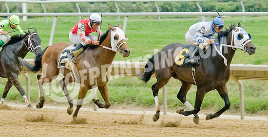 Smart Executive winning at Delaware Park on 8/1/12