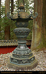 Kondo-doro Gilded Bronze Lantern Nikko Toshogu Shrine Nikko Japan