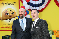 "Conrad Vernon, Greg Tiernan<br /> at the ""Sausage Party"" Premiere, Village Theater, Westwood, CA 08-09-16<br /> David Edwards/DailyCeleb.com 818-249-4998"