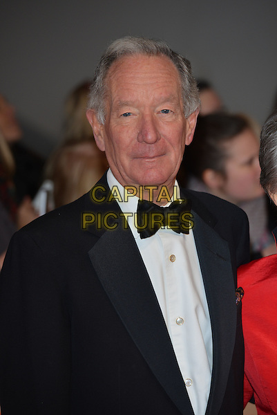 LONDON, ENGLAND - JANUARY 21: Michael Buerk attends the National Television Awards at o2 Arena, Greenwich, London on January 21, 2015 in London, England<br /> CAP/PL<br /> &copy;Phil Loftus/Capital Pictures