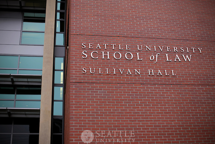 03272012-  Seattle University School of Law, Sullivan Hall exterior