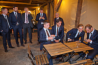 Switserland, Genève, September 16, 2015, Tennis,   Davis Cup, Switserland-Netherlands, location of the official diner, Domaine du Clos Du Chateau.<br /> Photo: Tennisimages/Henk Koster