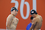(L to R) <br />   Kosuke Hagino, <br />  Daiya Seto (JPN), <br /> AUGUST 20, 2018 - Swimming : <br /> Men's 200m Individual Medley Heat <br /> at Gelora Bung Karno Aquatic Center <br /> during the 2018 Jakarta Palembang Asian Games <br /> in Jakarta, Indonesia. <br /> (Photo by Naoki Morita/AFLO SPORT)