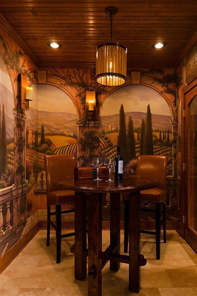 Wine Cellar Tasting Room by Lane Homes & Remodeling