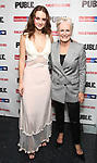 """Grace Van Patten and Glenn Close attends the Opening Night Celebration for """"Mother of the Maid"""" on October 18, 2018 at the Public Theatre in New York City."""
