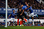 Richarlison of Everton scores the first goal during the Premier League match at Goodison Park, Liverpool. Picture date: 7th December 2019. Picture credit should read: Simon Bellis/Sportimage