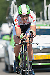 SITTARD, NETHERLANDS - AUGUST 16: Lars Boom of the Netherlands riding for the Belkin Procycling team competes during stage 5 of the Eneco Tour 2013, a 13km individual time trial from Sittard to Geleen, on August 16, 2013 in Sittard, Netherlands. (Photo by Dirk Markgraf/www.265-images.com)