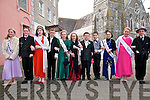 St Patricks Day Parade, Listowel: Taking part in the Listowel St.Patrick's Day parade in Listowel were Roses & their escorts from Dromclough School. L-R : Serena Quinland, Donal Kelly, Hazel O'Brien, Conor Walsh, Roisin Walsh, Sinead Behan, Oisin O'Donnell, Aaron Lawlor, Clodagh McElligott, Ciara Walsh & Cillian Holly.