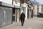 Shops on Home Housing's Rayners Lane Estate, Harrow.