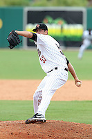 GCL Astros Brandon Culbreth #53 during a game against the GCL Marlins at Osceola County Stadium on June 25, 2011 in Kissimmee, Florida.  The Astros defeated the Marlins 5-2 after the game was ended in the sixth inning due to heavy rain.   (Mike Janes/Four Seam Images)