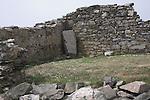 St Non's ancient ruins, St Davids Pembrokeshire Wales