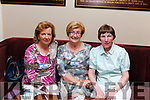 The Wednesday Club Abbeyfeale held a Tea Dance last Sunday in Fr. Casey&rsquo;s GAA Club in aid of  Recovery Haven Cancer Support House &amp; Kerry Hospice Foundation.<br /> Recovery Haven Volunteers Marian Barnes &amp; Maureen <br /> O&rsquo; Brien with Abbeyfeale Wednesday Club Secretary Mary McArthur.