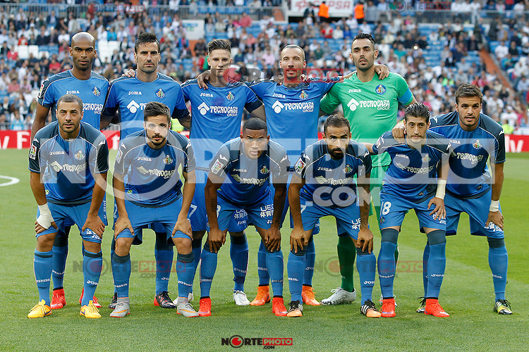 Getafe's team photo during La Liga match. May 23,2015. (ALTERPHOTOS/Acero) /NortePhoto.com