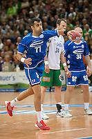 Vedran Zrnic (VFL) beim Siebenmeter, zieht ab