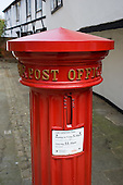 Victorian pillar box in Eton, Berkshire.